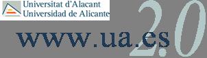 Logo www.ua.es 2.0