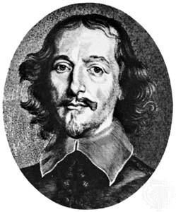 Otto von Guericke, físico y jurista alemán (Magdeburgo, 20 de noviembre de 1602 – Hamburgo, 21 de mayo de 1686), famoso por sus estudios sobre presión atmosférica, la electrostática y sobre la física del vacío.