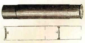 Microscopio de Hans y Zacarias Janssen.
