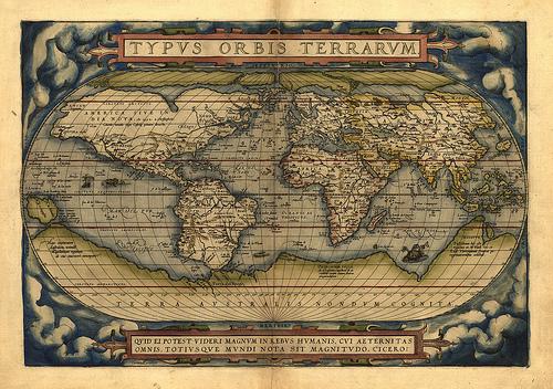 Cartografía en el siglo XVI | Ciencia y tecnología hacia