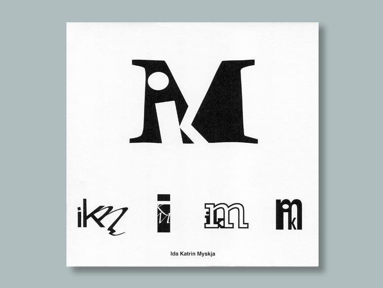 Ida katrin myskja dise o en publicidad for Logos con letras