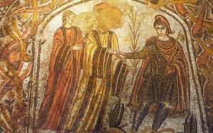 Mosaico. Villa romana de Las Musas, Arellano, Navarra.