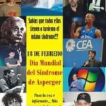 18 de febrero: día internacional del síndrome de Asperger