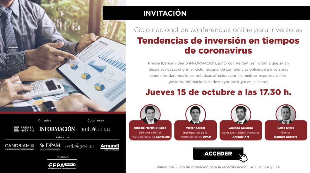 Streaming Renta 4 - Diario la Información - 15/1