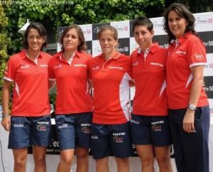 Equipo español de tenis  femenino - Copa Federación
