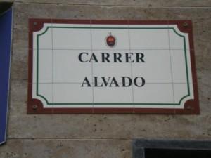 Carrer Alvado