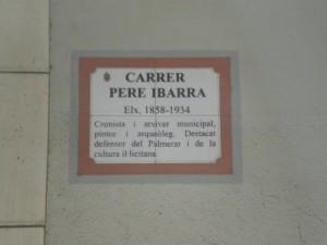 Carrer Pere Ibarra