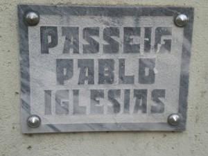 Passeig Pablo Iglesias