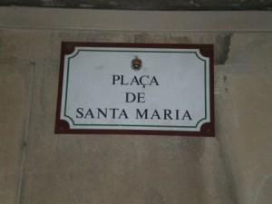 Plaça de Santa María