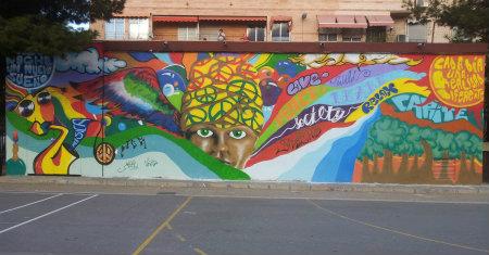 Mural realizado en el interior del recinto del Instituto de Educación Secundaria Carrús. Con motivo de la elaboración del mural se creó un concurso de propuestas entre los estudiantes del […]