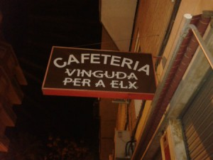 Cafetería Vinguda per a Elx
