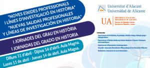 Nuevas salidas profesionales y lineas de investigación en historia