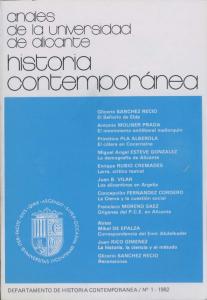 """Ya tenemos la revista """"Anales de Historia Contemporánea"""" en acceso libre y gratuito"""