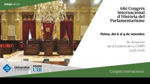 68è Congrès Internacional d'Història del Parlamentarisme