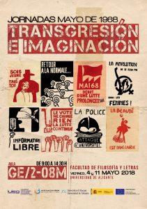 Jornadas Mayo de 1968. Transgresión e imaginación
