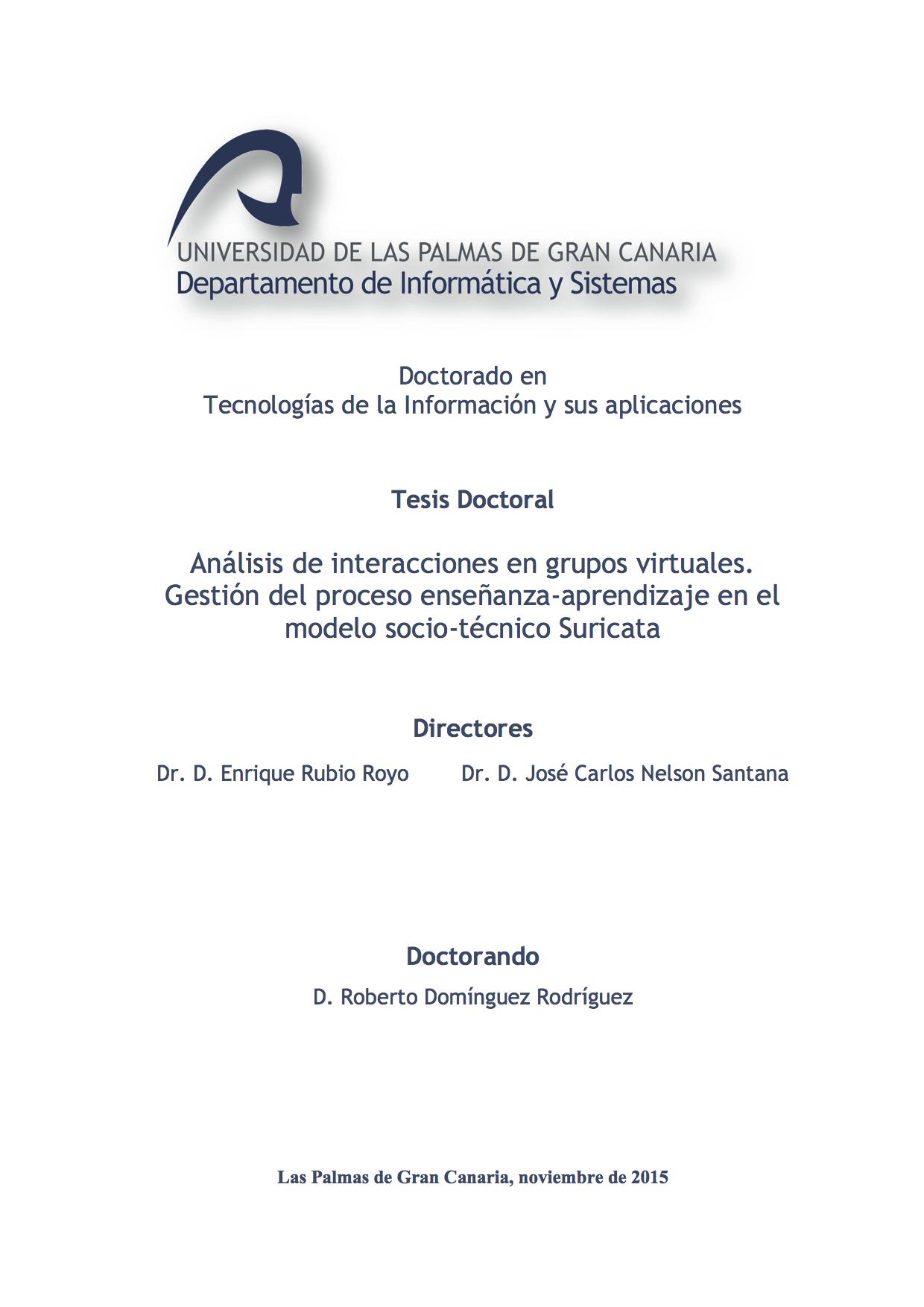 Tesis Doctoral Roberto Dominguez (portada)