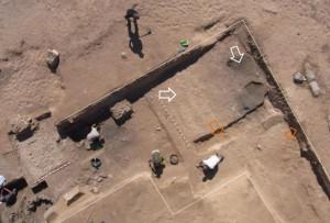 Excavación de la vía sepulcral (2014)