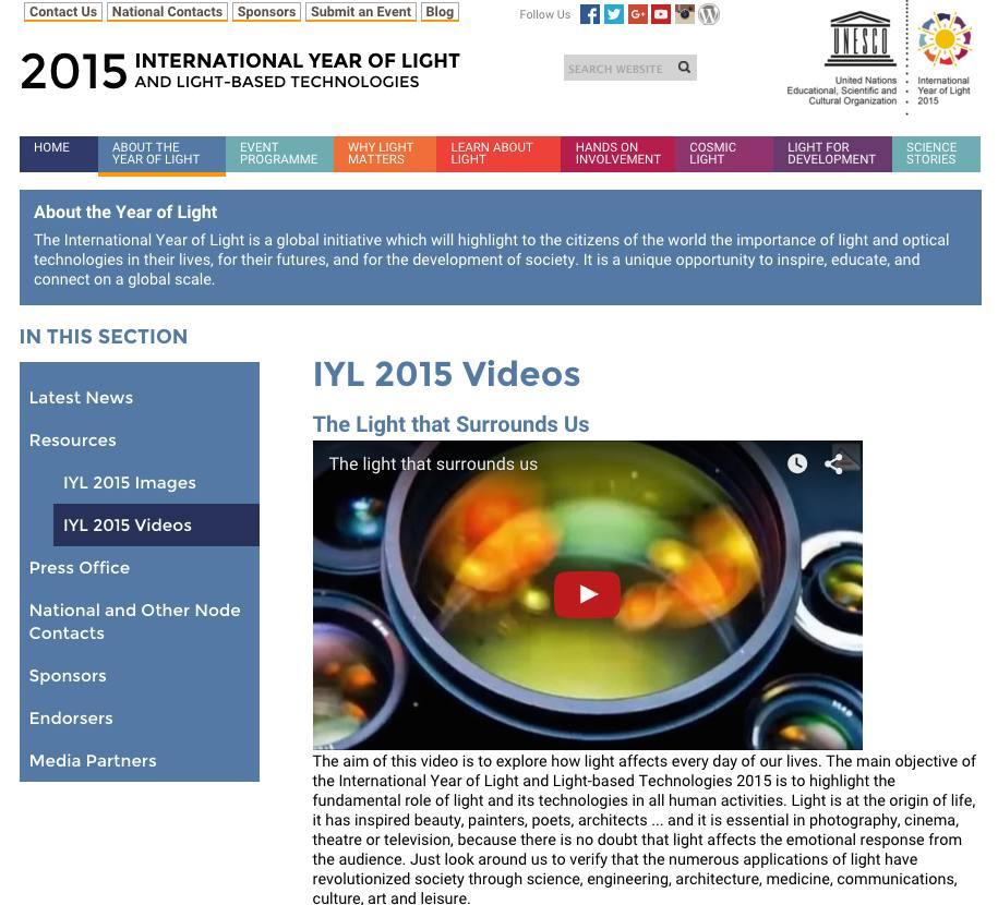 Web IYL2015-UNESCO