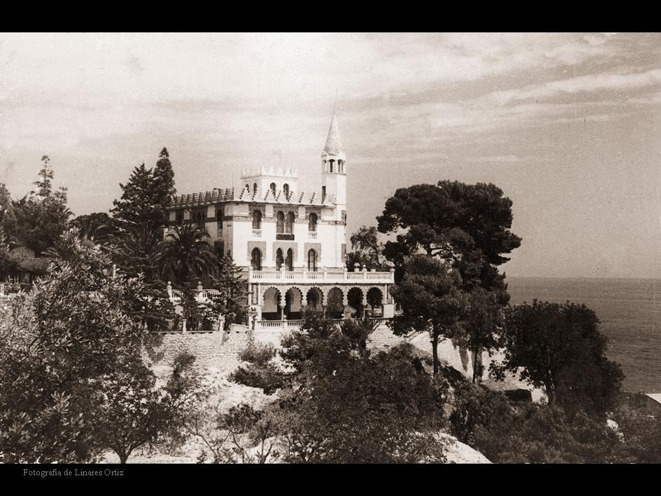 Antiguo palacete que sirvió como colonia de huérfanos. Fuente: Archivo Histórico de Villajoyosa