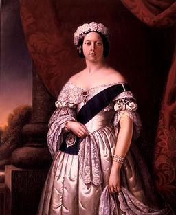 La reina Victoria en 1845 (Wikipedia)