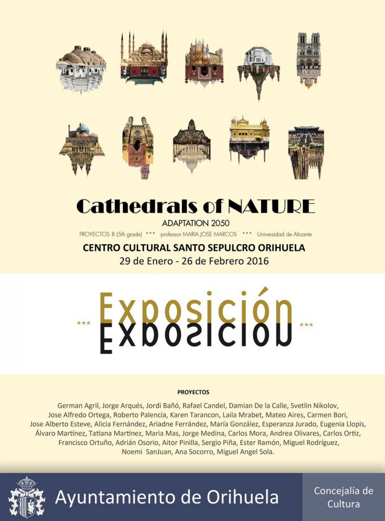 EXPOSICION cathedrals of nature maria jose marcos