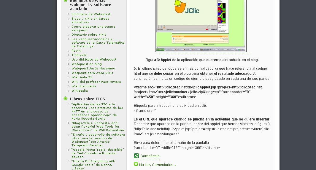 Blogs, wikis y webquest