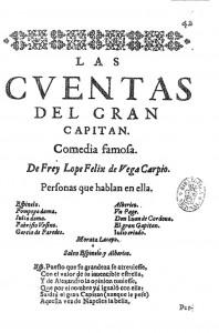 Las Cuentas del Gran Capitán