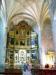 Interior de la Iglesia parroquial de Santa Cecilia