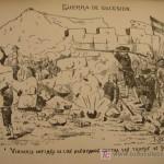 Vigorosa defensa de los alcoyanos contra las tropas de Felipe V