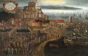 4g Embarcament dels moriscos al port de Denia. Vicent Mestre