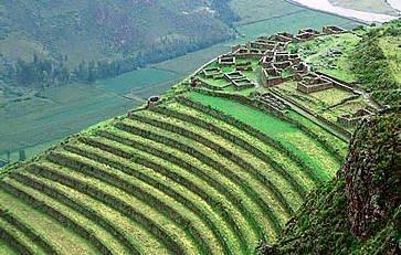El Imperio Inca Sistema De Riego Terrazas De Cultivo