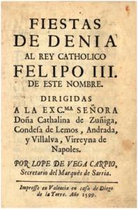 Portada-Fiestas-de-Denia-de-Lope-de-Vega