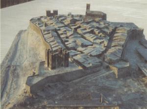 Maqueta de la Vila en el siglo XVII