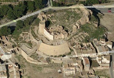 Castillo-palacio de Elda
