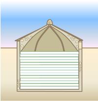 Esquema de un nevero.  Extraído de: http://es.wikipedia.org/wiki/Nevero_artificial