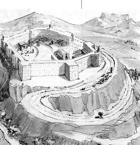 Reconstrucción del Castillo de Elda