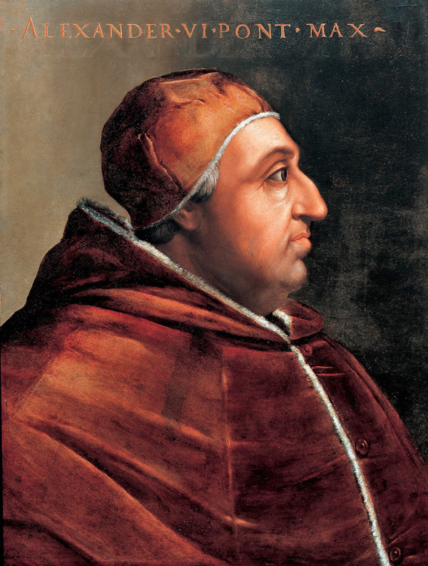 Papa Alejandro VI (Xàtiva, 1431 - Roma, 1503).