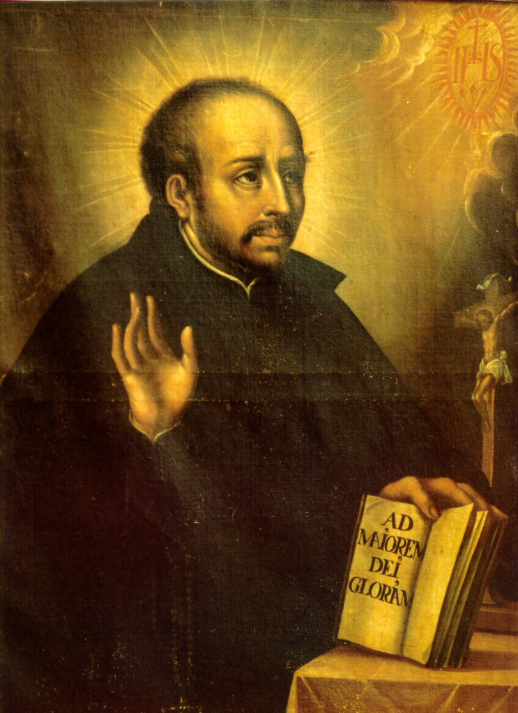 San Ignacio de Loyola, fundador de la Compañía de Jesús.