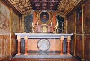 Capilla del Palacio Ducal de los Borja.
