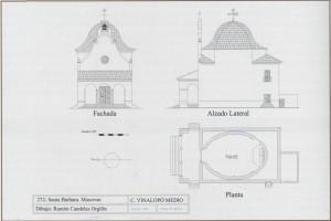 Alzado de la Ermita