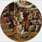 El Martirio de Santa Inés, de Vicente Masip.