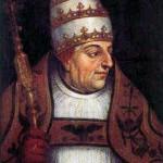 Retrato del papa Alejandro VI. Museo de Bellas Artes de Valencia