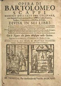Bartolomeo Scappi - Opera
