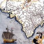 Mapa de parte del antiguo Reino de Valencia , Abraham Orfelius-1584