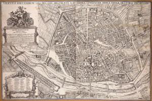 Plano de la Ciudad de Valencia de Antonio Manceli