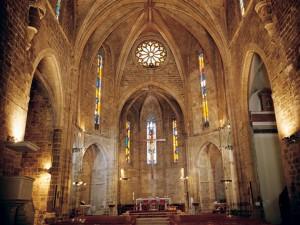 Vista interior, iglesia Arciprestal, Sant Mateu