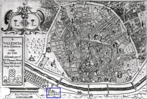 Plano de la ciudad de Valencia