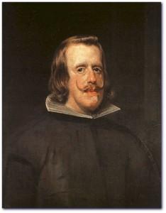 El monarca Felipe IV