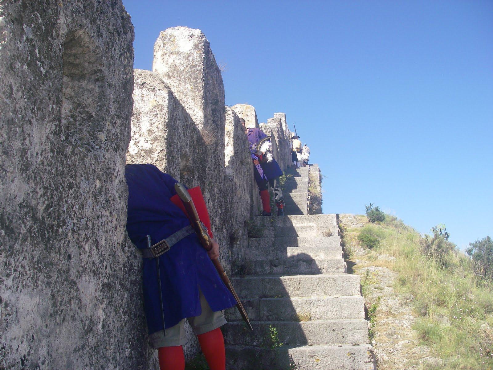 Recreació maulets vs. botiflers castell