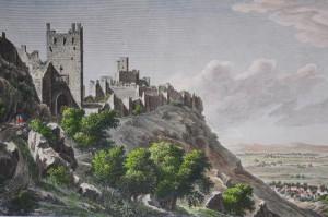 Gravat del segle XVIII del castell de Xàtiva. Laborde?